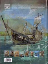 Verso de Les grandes batailles navales -7- Hampton Roads