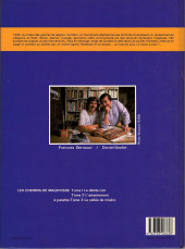 Verso de Les chemins de Malefosse -1a1985- Le diable noir