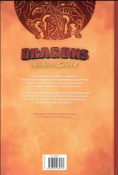 Verso de Dragons (DreamWorks) - L'Héritier du Serpent