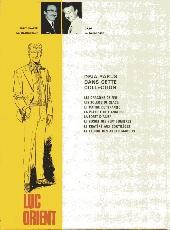 Verso de Luc Orient -8'- La légion des anges maudits