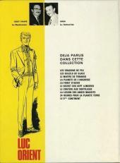Verso de Luc Orient -10'- Le 6ème continent