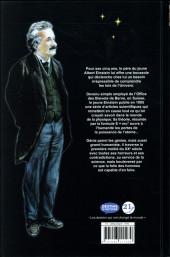 Verso de A. Einstein - la poésie du réel