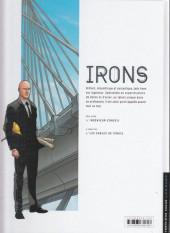 Verso de Irons -1- Ingénieur-conseil