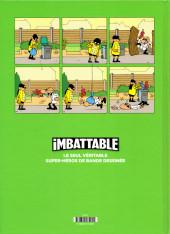 Verso de Imbattable -2- Super-héros de proximité