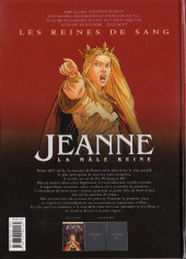 Verso de Les reines de sang - Jeanne, la mâle reine -1- Volume 1