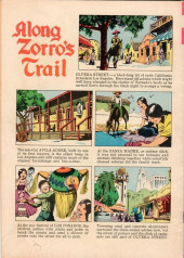 Verso de Walt Disney Presents Zorro (Gold Key - 1966) -1- (sans titre)