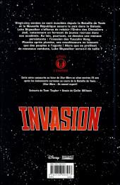 Verso de Star Wars - Invasion -INT- Intégrale