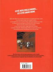Verso de La cité sans nom -2- Le Secret du Cœur de pierre