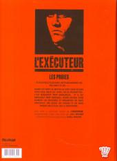 Verso de L'exécuteur -3- Les proies