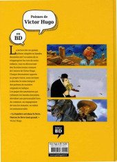 Verso de Poèmes en bandes dessinées -c18- Poèmes de Victor Hugo en BD