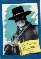 Verso de Walt Disney Presents Zorro (Gold Key - 1966) -2- The Eagle's Brood