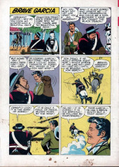 Verso de Walt Disney Presents Zorro (Gold Key - 1966) -4- (sans titre)
