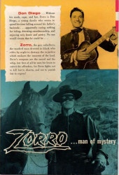 Verso de Walt Disney Presents Zorro (Gold Key - 1966) -8- Garcia's Secret
