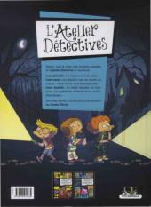Verso de L'atelier détectives -2- Secrets d'école