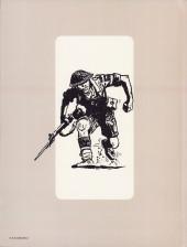 Verso de Récits de guerre (Pratt) - Du sable, rien que du sable