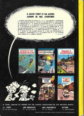 Verso de Spirou et Fantasio -5c72b- Les voleurs du marsupilami