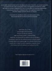 Verso de L'assassin Royal -INT3- Intégrale 3