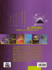 Verso de L'incal - Une aventure de John Difool -4b99- Ce qui est en haut