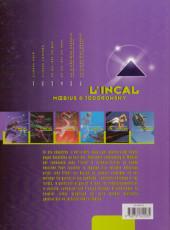Verso de L'incal - Une aventure de John Difool -6b2000- La Cinquième Essence - Deuxième partie : La planète Difool