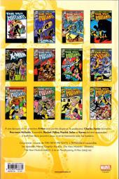Verso de The new Mutants (L'intégrale) -1- 1982 - 1983