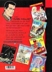 Verso de Michel Vaillant -2Pir- Le Pilote sans visage