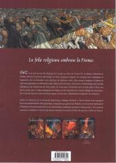 Verso de Les guerriers de Dieu -3- Les Martyrs de Wassy