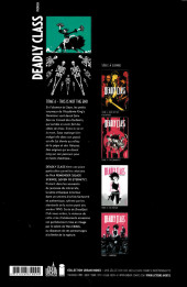 Verso de Deadly Class -6- This is Not the End
