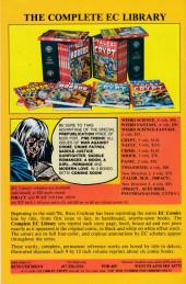 Verso de Weird Science-Fantasy / Incredible Science Fiction (1992) -3- Weird Science-Fantasy 25 (1954)