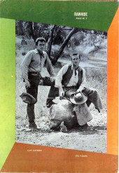 Verso de Rawhide (Dell - 1962) -2- Rawhide