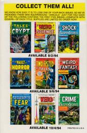 Verso de Weird Science-Fantasy / Incredible Science Fiction (1992) -9- Incredible Science Fiction 31 (1955)