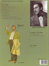 Verso de Blake et Mortimer (Les Aventures de) -6b1996- La Marque Jaune