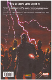 Verso de New Avengers (The) (Marvel Deluxe - 2007) -1c15- Chaos