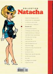 Verso de Natacha - La Collection (Hachette) -5- Double vol