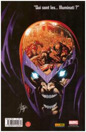 Verso de New Avengers (The) (Marvel Deluxe - 2007) -3a13- Révolution