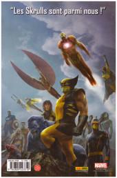 Verso de New Avengers (The) (Marvel Deluxe - 2007) -5a13- L'empire