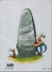 Verso de Astérix (Hachette) -1a2003/01- Astérix le Gaulois