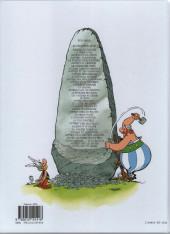 Verso de Astérix (Hachette) -9d2016- Astérix et les Normands