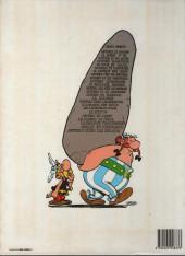 Verso de Astérix -21b1986- Le cadeau de César