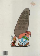 Verso de Astérix -23b1988- Obélix et compagnie