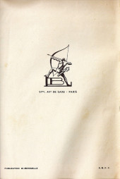 Verso de French-Bill (Cavalier du far-west) -3- La prairie en flammes