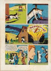 Verso de Rin Tin Tin (Dell - 1954) -4- Logging Trouble