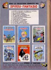 Verso de Spirou et Fantasio -13- Le voyageur du mésozoïque