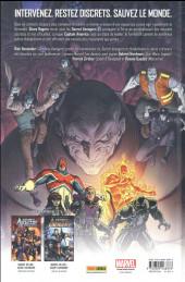 Verso de Secret Avengers (Marvel Deluxe) -3- Les Descendants