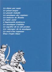 Verso de Le cavalier inconnu (Intégrale) -INT4- Volume 4