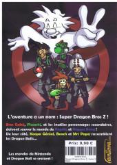 Verso de Super Dragon Bros. Z -2- Tome 2