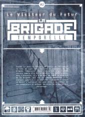 Verso de Le visiteur du Futur - La Brigade temporelle -2- Tome 02