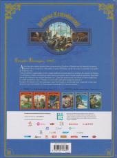 Verso de Le voyage Extraordinaire -448hBD- Tome 4 - Les Îles mystérieuses - 1/3