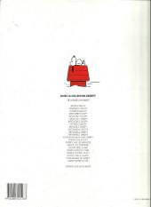 Verso de Peanuts -6- (Snoopy - Dargaud) -5a93- Inégalable Snoopy