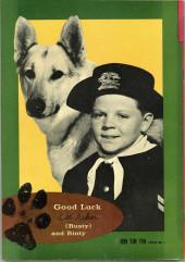 Verso de Rin Tin Tin and Rusty (Gold Key - 1963) -1- Rin Tin Tin and Rusty