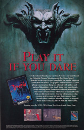Verso de Dracula: Vlad the impaler (1993) -3- Dracula: Vlad the impaler #3